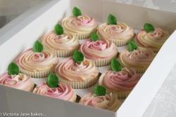 Martha's 21st Cupcakes