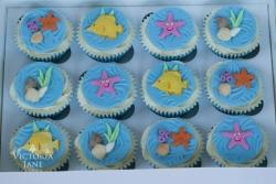 Underwater Cupcakes