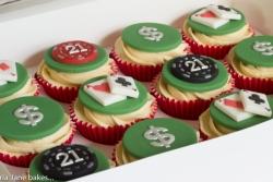 Vegas 21st Cupcakes
