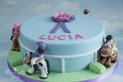 Lucia's Pony Cake