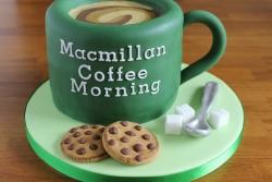 Macmillan Coffee Cup Cake