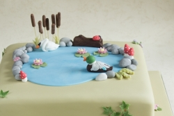 Nature Cake Square