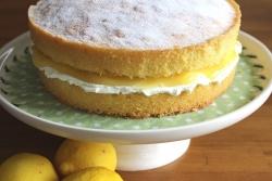 Lemon Marscapone Cake