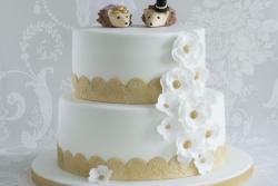 Hedgehog Wedding Cake