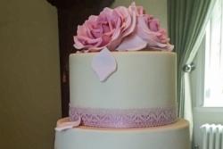 Latte & Pink Cake